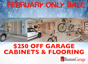 Garage Cabinets and Flooring Promotion